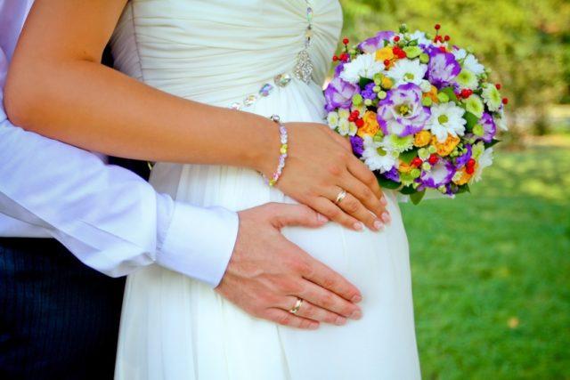замужество при беременности
