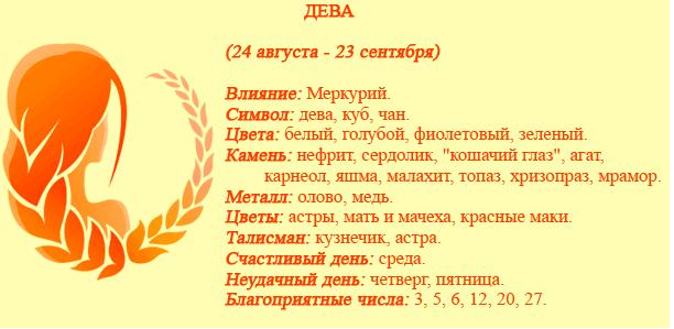 Гороскоп на 2017 год по знакам зодиака и по году рождения - Дева