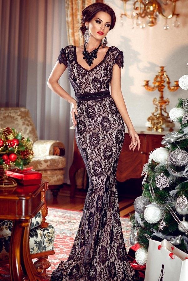 Новинки платьев к новому году