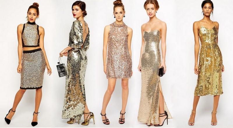 Новогодние платья в 2018 году