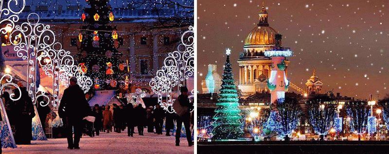 где можно провести новогоднюю ночь