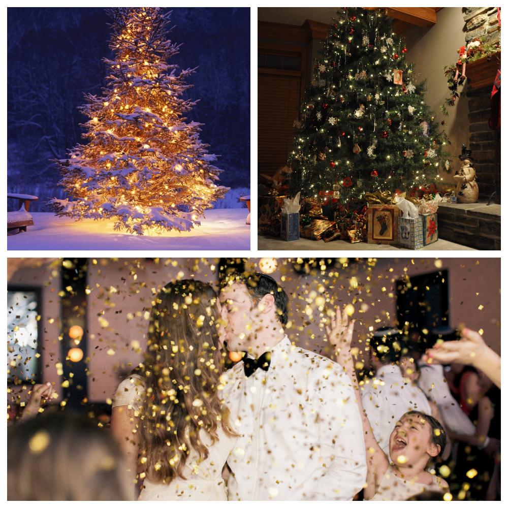 свадебная фотосессия в стиле нового года