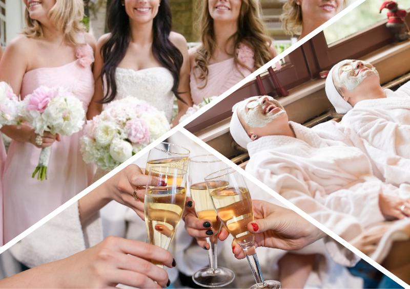 спа девичник на свадьбе